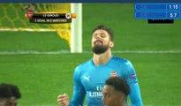 Oliver Giroud Penalty Goal Bate Borisov 1-4 Arsenal -  28.09.2017