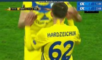 Mikhail Gordejchuk Goal Bate Borisov 2-4 Arsenal -  28.09.2017