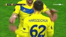 2-4 Mikhail Gordeichuk Goal UEFA  Europa League  Group H - 28.09.2017 BATE Borisov 2-4 Arsenal