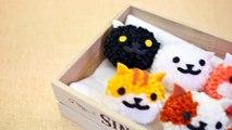 EASY Fluffy Neko Atsume Pom Pom Tutorial - Fun & Cheap DIY (Free Pom Pom Maker Template)