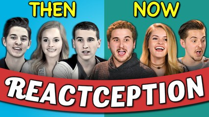 college kids react to themselves on teens react 3