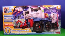 IMAGINEXT Fisher Price Imaginext Battle Rover Space Toy Video Review