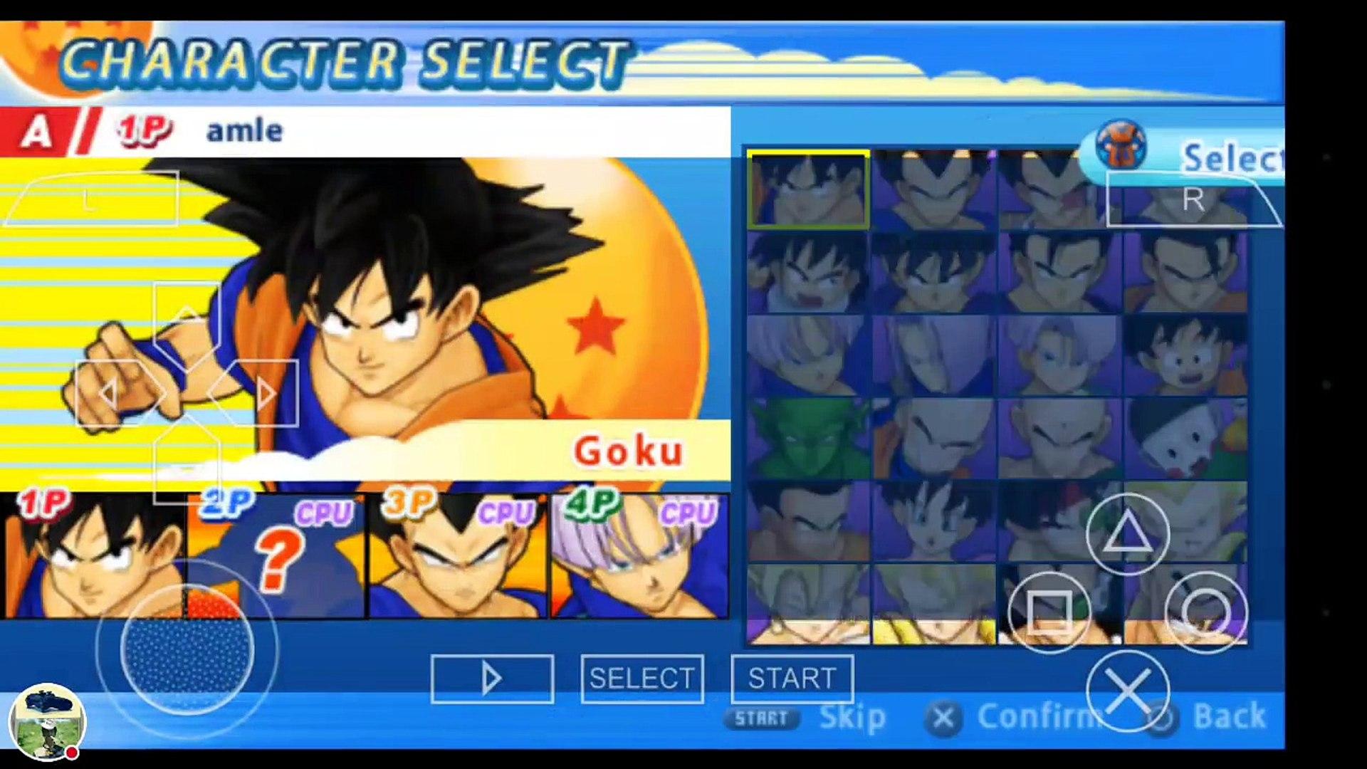Dragon Ball Z Tenkaichi Tag Team! XENOVERSE MOD! My PPSSPP Gold - PSP  emulator Stream