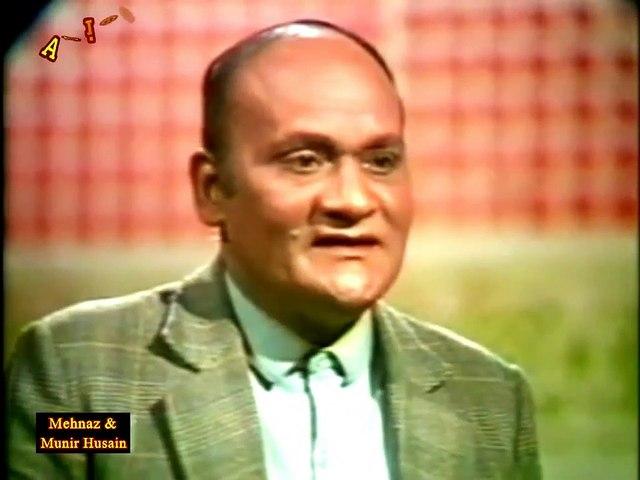 LIVE Version of Panchhi Tay Pardesi By Munir Hussain & Mehnaz on PTv