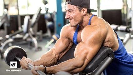 Sadik Hadzovic's Classic Biceps and Triceps Workout | IFBB Pro