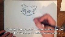 Como Desenhar Um Gato Fácil Guia Passo A Passo
