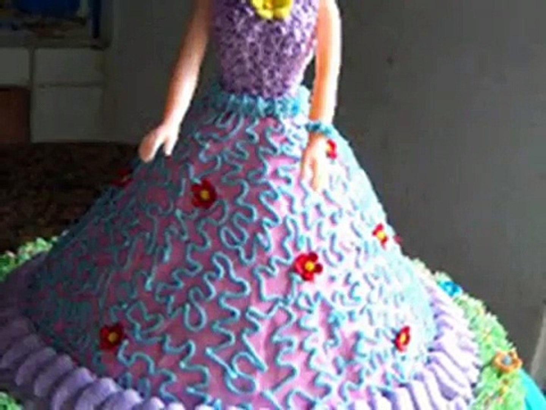 Cara Membuat Kue Ulang Tahun Bentuk Barbie Lucu Dan Unik