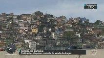 Traficantes disputam controle de venda de drogas na favela da Rocinha