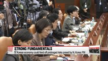 Finance minister says S. Korean economy has good fundamentals to fend off N. Korean risks