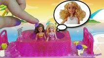 GIANT BARBIE POOPS ON CITY! Barbie poops herself, barbie poops her pants