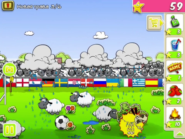 Clouds & Sheep Part 3 Sheep play in football Walkthrough | Овцы играют в футбол | Прохождение