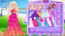 Beauty and Unicorn Dress up Game - Juego de Vestir Barbie y el Unicornio   ♥ irisgamestv