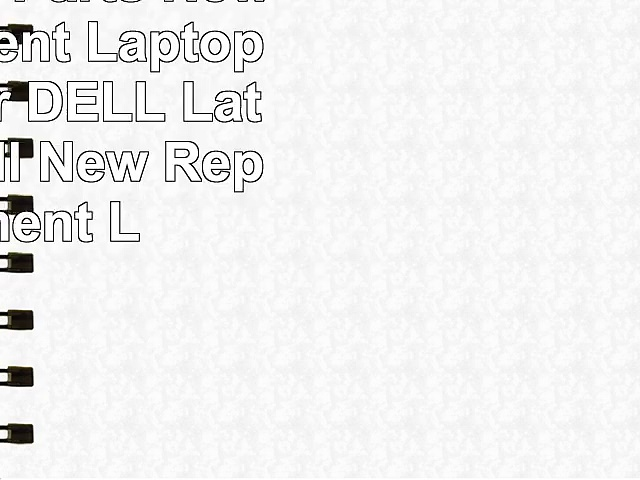 Bay Valley Parts New Replacement Laptop Battery for DELL Latitude 9 Cell New Replacement