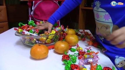Bad Baby Santa Claus vs Yaroslava! Santa stolen Candy Christmas Prank Tiki Taki
