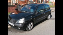 Renault clio 2 phase 3 1.6 L 16 valve engine obd2 connector location eobd diagnostics