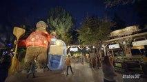 [4K] Grizzly River Run - Night Rapids Ride : Disneys California Adventure Park (Anaheim,