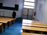 Pluie dans les amphis - Faculté Saint Jérôme