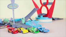 Disney Cars Finger Family | Daddy Finger Song Cars Lightning McQueen - Nursery Rhymes & Toy Review