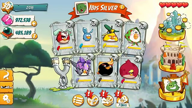 Angry Birds 2 New update 2017 NEW HATS (Easter Hat, Work Hat, Mythic Hat)