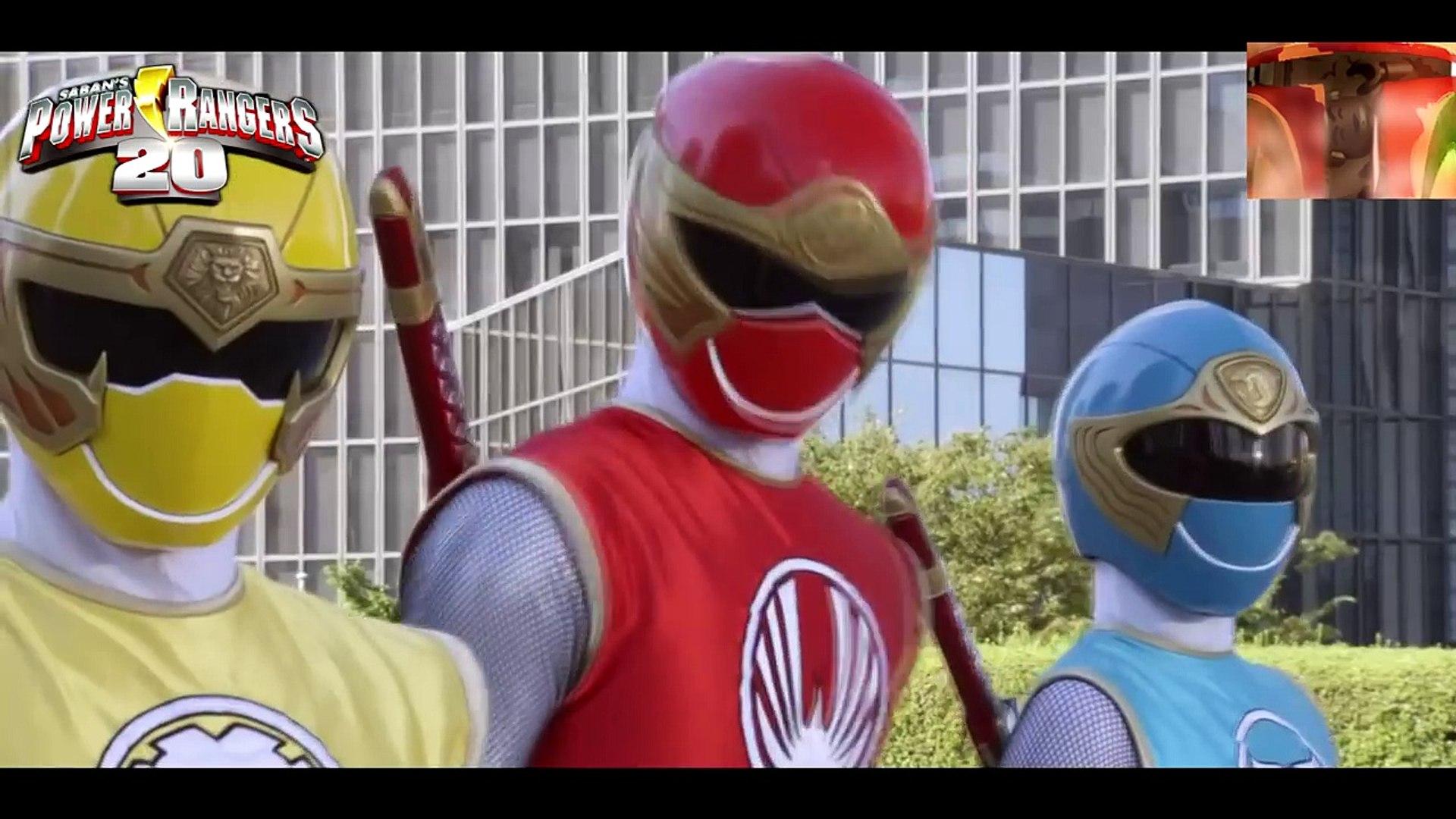 Power Rangers: Ninja Storm and Super Megaforce Team up (fan made)