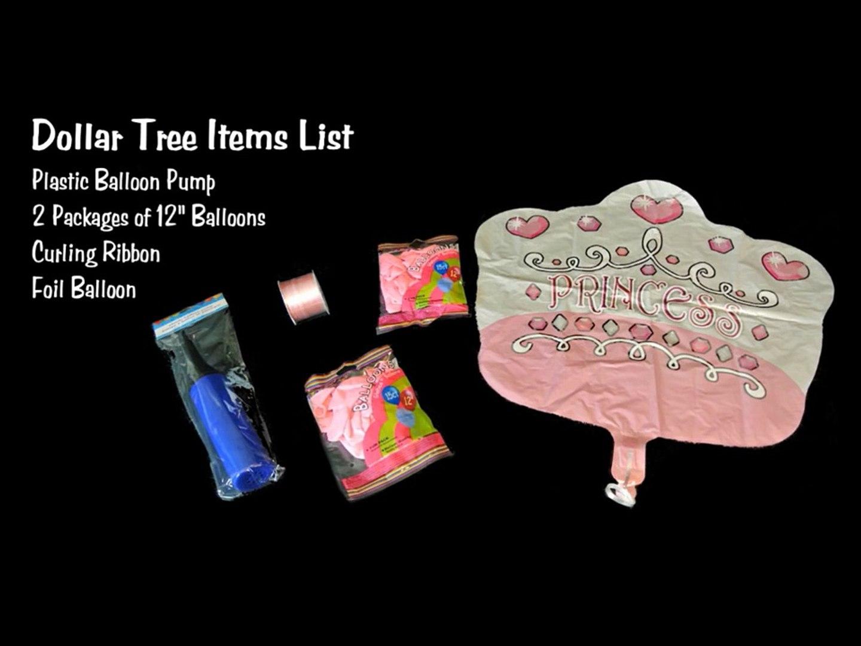 Dollar Tree Balloon Decoration Tutorial