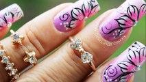 Decoracion Uñas Flores Sencillas Flower Nail Art Video