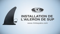 RTM - INSTALLER L'AILERON CENTRAL SUR SON SUP RTM