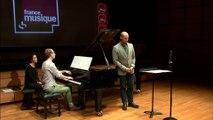 Poulenc | Deux mélodies Guillaume Apollinaire - Montparnasse de Stéphane Degout & Alphonse Cemin