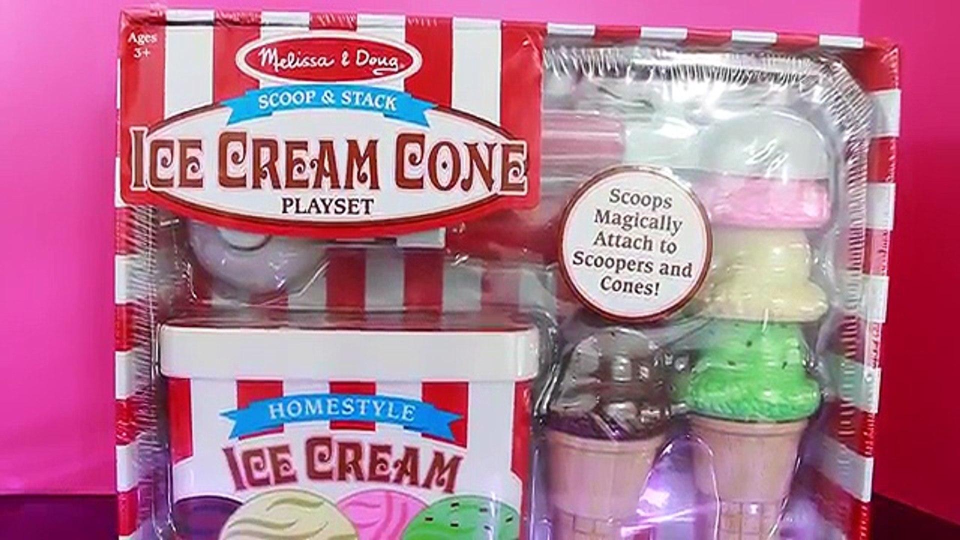 Disney Elsa Frozen Ice Cream Melissa Doug Wooden Learning Educational Toys Like Cupcake Set Video