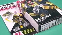 Kre-o Transformers Grimlock - Kreon Battle Changer Building Toy - Unboxing, Time-lapse Build & Play