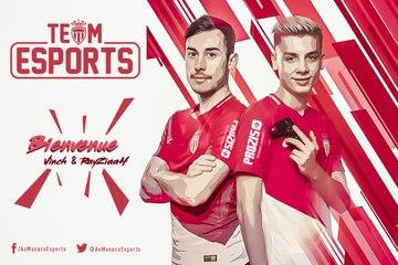 L'AS Monaco présente sa team eSports