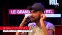 Christophe Willem - Marlon Brandon (LIVE) Le Grand Studio RTL