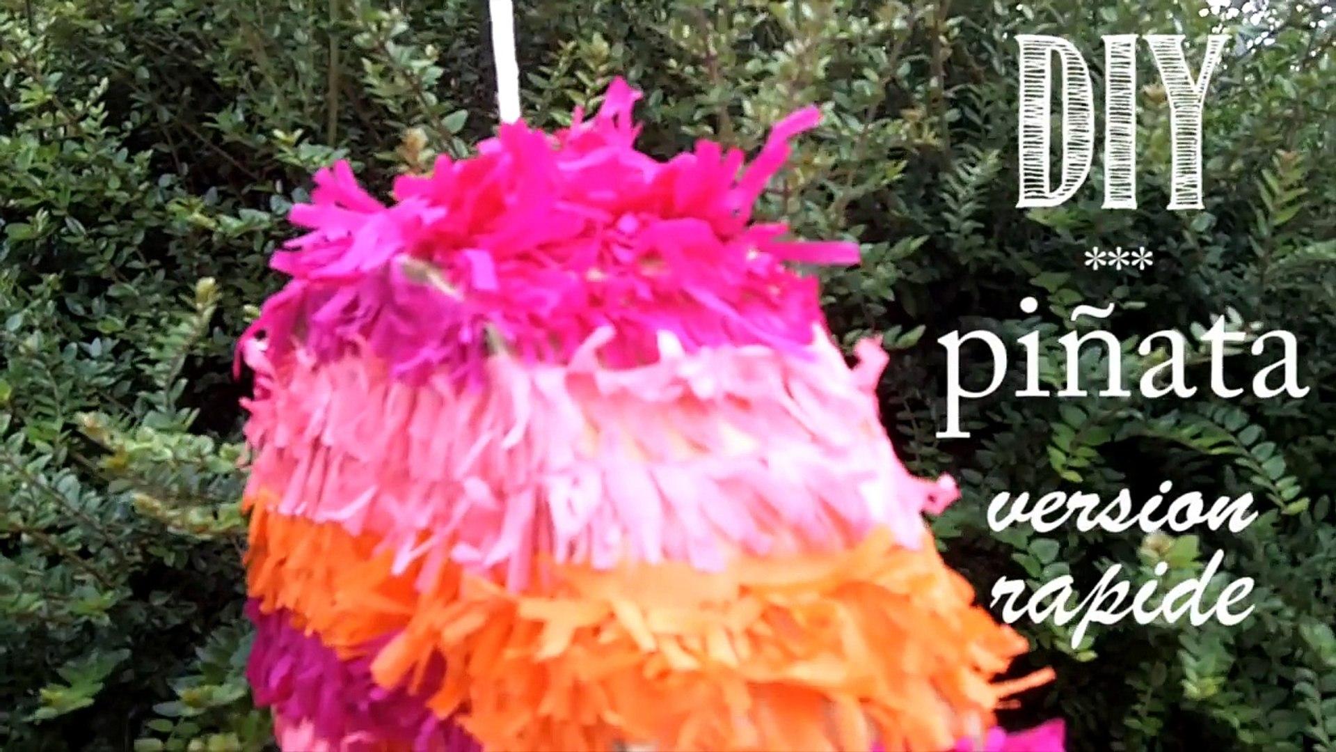 Fabriquer Une Pinata Facile Et Rapide diy tuto: comment faire une piñata, version rapide.