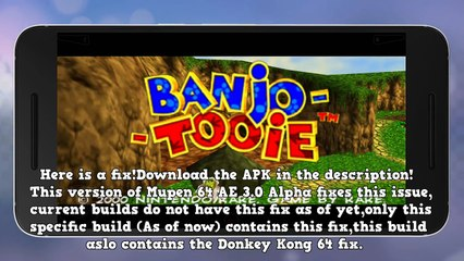 Banjo-Tooie [FIXED!] - Android (+Download)