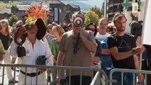 """Haute-Savoie : """"Je n'arrive pas avec une baguette magique"""" contre la pollution, affirme Nicolas Hulot"""