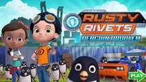 Rusty Rivets Penguin Problem - RUSTY RIVETS Nick jr Game For Kids