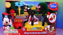 MICKEY MOUSE CLUBHOUSE Disney Mickey Mouse Car Wash Toys Video Unboxing