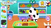 Trò chơi gấu trúc 3 : gấu trúc panda đi siêu thị cùng mẹ | sieu thi gau truc