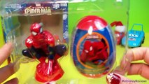 Marvel Ultimate Spiderman-Candy Toy Set-Surprise Egg Toy n Stickers-Holiday gift MsDisneyReviews
