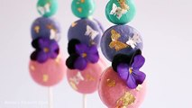 Macaron Sticks / Pops Tutorial- Rosies Dessert Spot