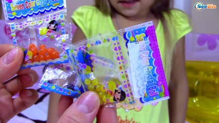 ОРБИЗ - Ярослава выращивает ГИГАНТСКИЕ ШАРИКИ Видео для детей Orbeez Toy Challenge