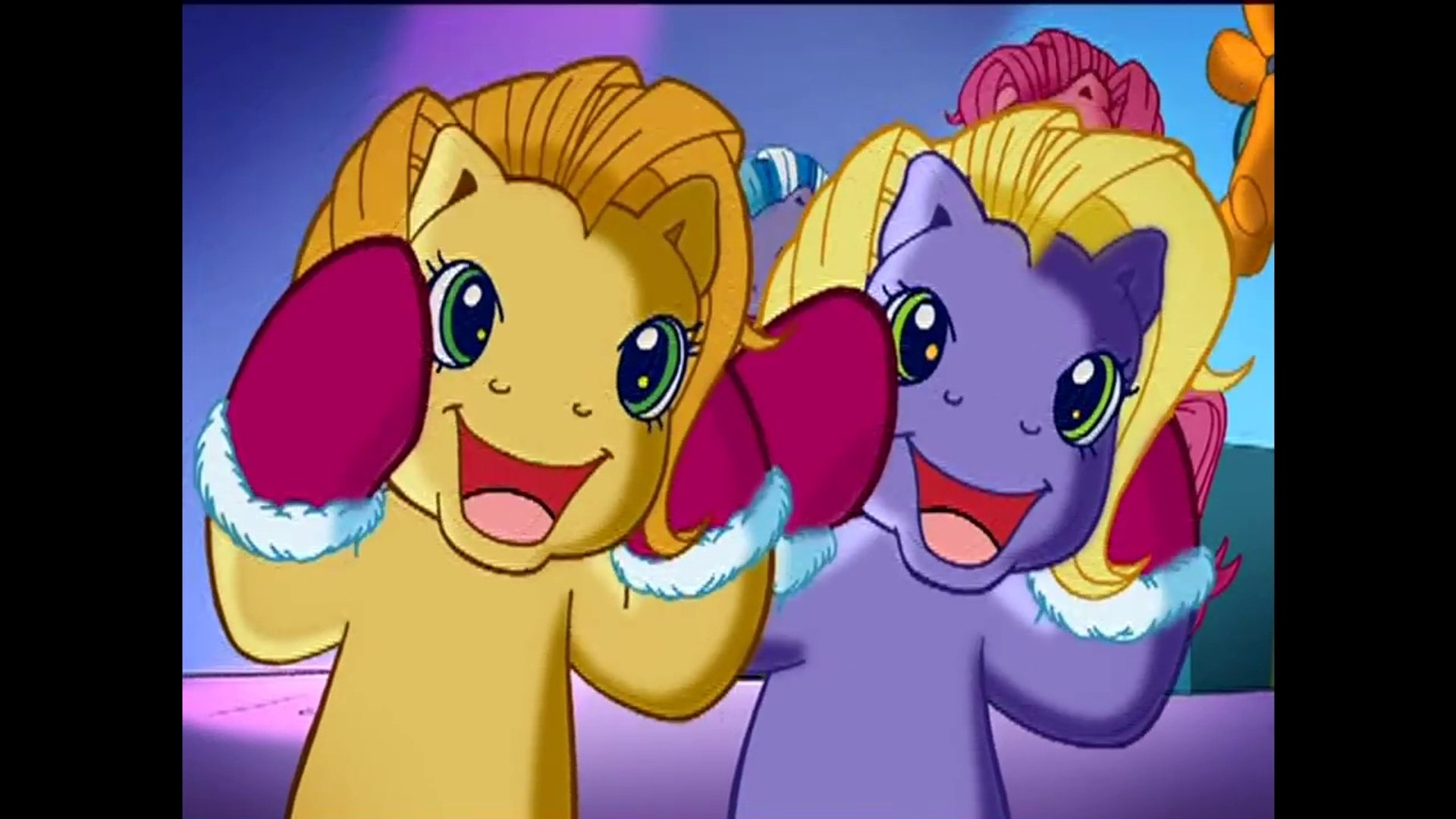 Mlp Christmas.My Little Pony A Very Minty Christmas 2005 Clip Nothing Says Christmas Like A Pair Of Socks