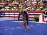 Brandy Johnson  Floor Exercise - 1989 U.S. Gymnastics Championships - Event Finals