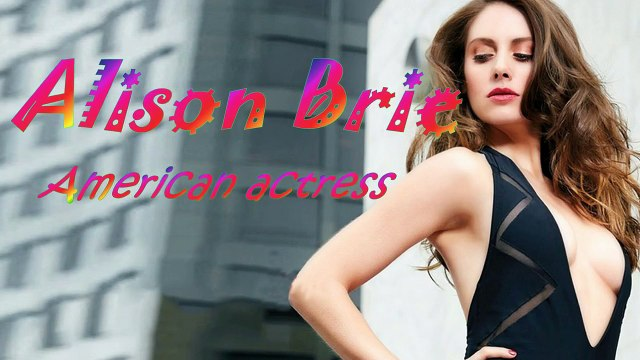 Alison Brie Schermerhorn is a Beautiful Actress _ American Actress Alison Brie _ Gallery,