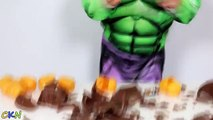 Hulk Smashing Star Wars Darth Vader Chocolate Surprise Eggs With Minions and Avengers Toys Ckn Toys