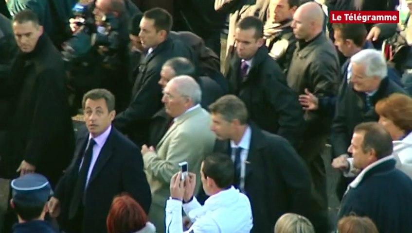 Le Guilvinec (29). Nicolas Sarkozy insulté par les pêcheurs