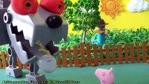 Pig George da família Peppa Pig é Comido pelo Cão Robô do Phineas e Ferb Massinhas Play Doh