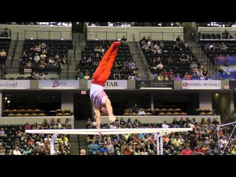 Hunter Justus – Parallel Bars – 2015 P&G Championships – Sr. Men Day 1