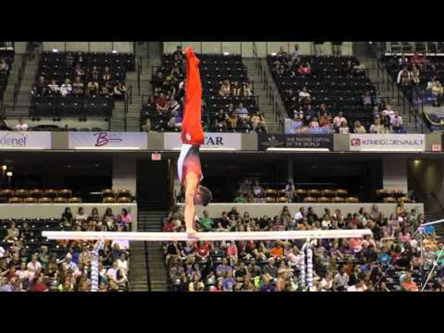 Hunter Justus – Parallel Bars – 2015 P&G Championships – Sr. Men Day 2