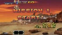 Metal Slug XX mission 1 Hard Mode ( Marco ) ^^No deaths^^